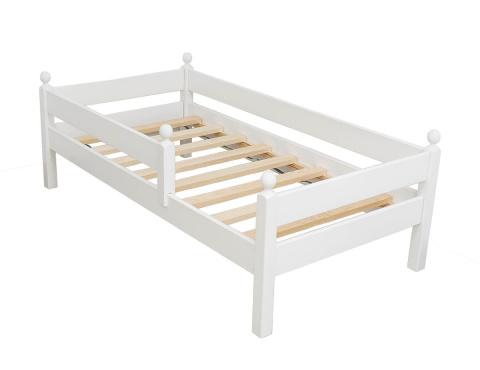 łóżko Dla Dziecka Z Barierką Bez Szuflady Merlin