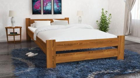 łóżka Do Sypialni Drewniane Z Materacem